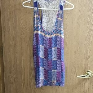 Charlotte Russe,Lace Tank Top,Large